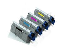 KIT 4 Toner Compatibile per OKI C8600 C8800 43487709 43487710 43487711 43487712