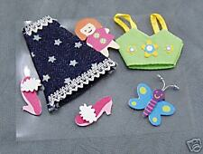 embellishment toppers 3D stickers Clothes, cards scrapbooking Craft