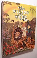 THE WIZARD OF OZ ~ L. Frank Baum HC/DJ 1982 ILLUS Michael Hague - C1