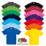 Fruit Of The Loom KIDS T-SHIRT TEE CHILDREN BOYS GIRLS SCHOOL AGES 3-15 COLOURS