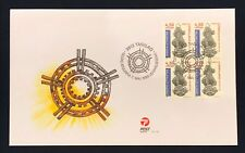 Greenland Post Official FDC 1999.05.07. National Museum - Block of 4