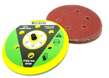 Hook and Loop Sanding Pad 6 Inch Pads and Sanding Discs Paper 10 pack 8099 8071