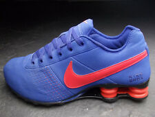 NIKE PREMIUM SHOX NZ TL DELIVER PLUS MONSTER 43 BLAU ROT SCHWARZ SUPER ZUSTAND