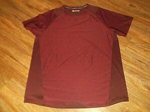 Men's UNDER ARMOUR Heatgear Fitted T Shirt Sz 2XL XXL Maroon Mesh Back