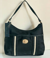 NEW! TOMMY HILFIGER BLACK BUCKET HOBO SHOULDER BAG PURSE $79 SALE