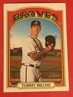 2021 Topps Heritage Baseball #116 Tommy Milone - Atlanta Braves