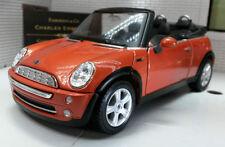 Maisto Mini Cooper Diecast Cars