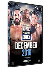 Official TNA Impact Wrestling One Night Only: December 2016 Event DVD