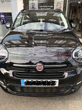 Fiat 500x 500 X Bonnet Shut Bumper Italian Flag Decal Tricolore Stripe