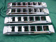 FOUR CHROME BOAT VENT LOUVER SEA RAY BAYLINER FOUR WINNS BAJA GLASTRON  4 PACK