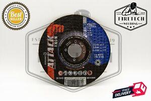 "(Pack of 100) Osborn (5"") 125mm x 3mm - DPC Stainless Steel Metal Cutting Discs"