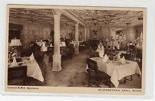 RMS AQUITANIA shipping postcard (C162).