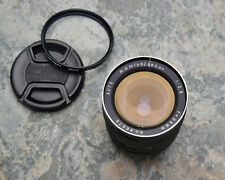 Mamiya/Sekor Auto f/2.8 28mm Wide Angle Lens M42 Mount Caps & Filter (#3628)
