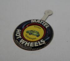 Redline Hotwheels Button Badge Metal Hong Kong Custom Volkswagen R17176