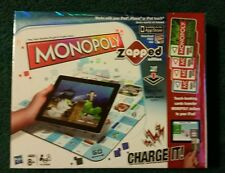NEW HASBRO MONOPOLY ZAPPED EDITION GAME FOR iPAD iPHONE iPOD, NIB, AGES 8+ TOUCH
