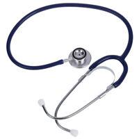 Nouveau Medicale Dual Tete Stethoscope Pour Infirmiere Docteur Veterinaire Et 7P