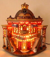 Victorian Village Theater Box Office Grandeur Noel Christmas Replacement 2003