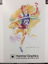 """DRAKE RELAYS"" BY LEROY NEIMAN -ORIGINAL VINTAGE  POSTER FROM 1979"