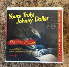Yours Truly Johnny Dollar Phantom Chases Classic Radio 44 episodes 10 Cds
