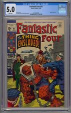 FANTASTIC FOUR #91 CGC 5.0 1ST TORGO WHITE PAGES