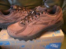 Brooks Adrenaline Walker 3 Women UK Size 4 - Brown & Black NEW- original shoebox