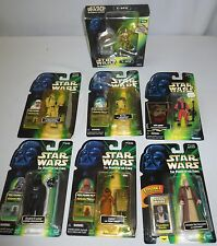 Star Wars Power of the Force POTF Hasbro (Set of 7)  NIB photo Coin Commtech