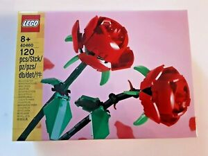LEGO SAISONAL EXKLUSIV 40460 ROSEN MUTTERTAG NEU OVP UNGEÖFFNET 2021 BLUMEN
