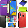 For Samsung Galaxy A9 2018 - PU Leather Wallet Phone Flip Magnetic Case Cover