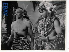 Woody Strode barechested James Edwards VINTAGE Photo Tarzan's Fight For Life
