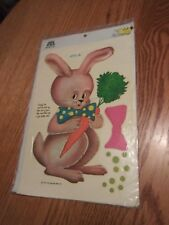 1979 Meyercord Decals ( BUNNY WITH CARROT)