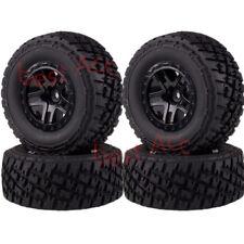 For Traxxas Slash 4x4 Truck 1/10 RC 4PCS Wheel Rims & Tyres Tires 106mm 1182-17A