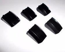 Lego (30602) 5 Bogensteine/Motorhauben 2x2, in schwarz aus 9450 4896 7418 4511