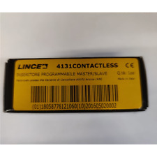 LINCE 4131CONTACTLESS INSERITORE CONTACTLESSPROGRAMMABILE MASTE