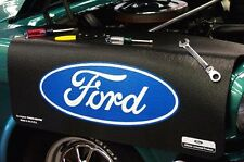 Ford Black Oval car mechanics fender cover paint protector vintage style