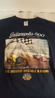 Indianapolis 500 T-Shirt Small 2011 Official shirt race starting field XL
