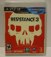 Resistance 3 (Sony PlayStation 3, 2011) New Sealed Factory Y Fold