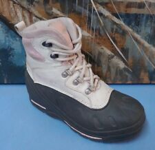 Columbia Bugabootoo Waterproof Winter Snowboots Size 4 Youth