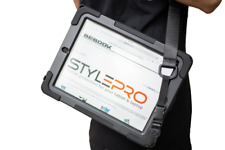 """iPad 7th gen 10.2"""", Air 10.5"""" rugged case, hand & shoulder strap, rotating stand"""