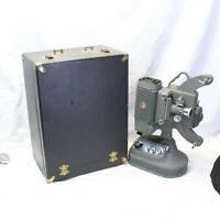 DeJur De Jur 8mm Projector Model DL-5153 & Case & Take Up Reel  Parts ONLY