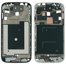 Samsung GALAXY s4 GT-i9505 DISPLAY LCD FRAME a HOUSING COVER BISCOTTO SILVER