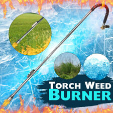 Propane Torch Weed Burner Torch Fire Lawn Button Igniter Wand Ice Snow Melter