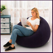 Sofa Chairs PVC Lounger Seat Bean Bag Sofas Pouf Puff Couch Tatami Living Room