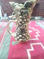 RARE MCCOY #616 VASE END OF THE DAY, GOLD PLATED
