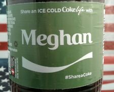 Share A Coke Life With Meghan 2017 Limited Edition Green Label Coca Cola Bottle