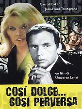DVD COSI' DOLCE COSI' PERVERSA UMBERTO LENZI - E.BLANC J.L.Trintignant SIGILLATO