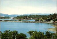 Vintage Postcard Year Round At Lake Berryessa Marina Resort California Unposted