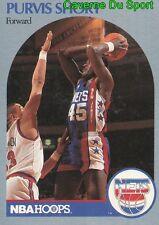 201 PURVIS SHORT BROOKLYN KNICKS CARD CARTE BASKETBALL NBA HOOPS 1990