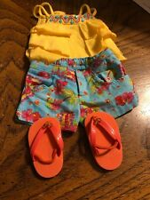American Girl Doll Sunny Isle Outfit EUC RETIRED