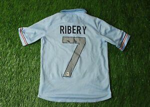FRANCE TEAM #7 RIBERY 2013/2014 FOOTBALL SHIRT JERSEY HOME NIKE ORIGINAL YOUNG M