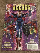 DC/MARVEL: ALL ACCESS (1996) #1 DAREDEVIL, BATMAN, SPIDER-MAN